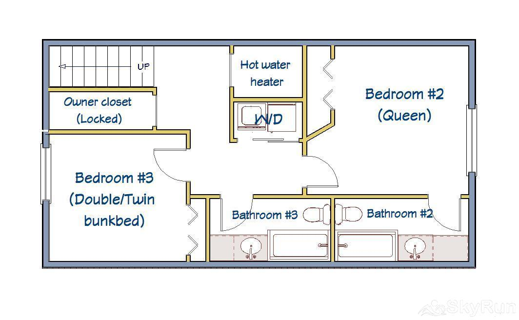 Village Point 109 Lower Level Floorplan