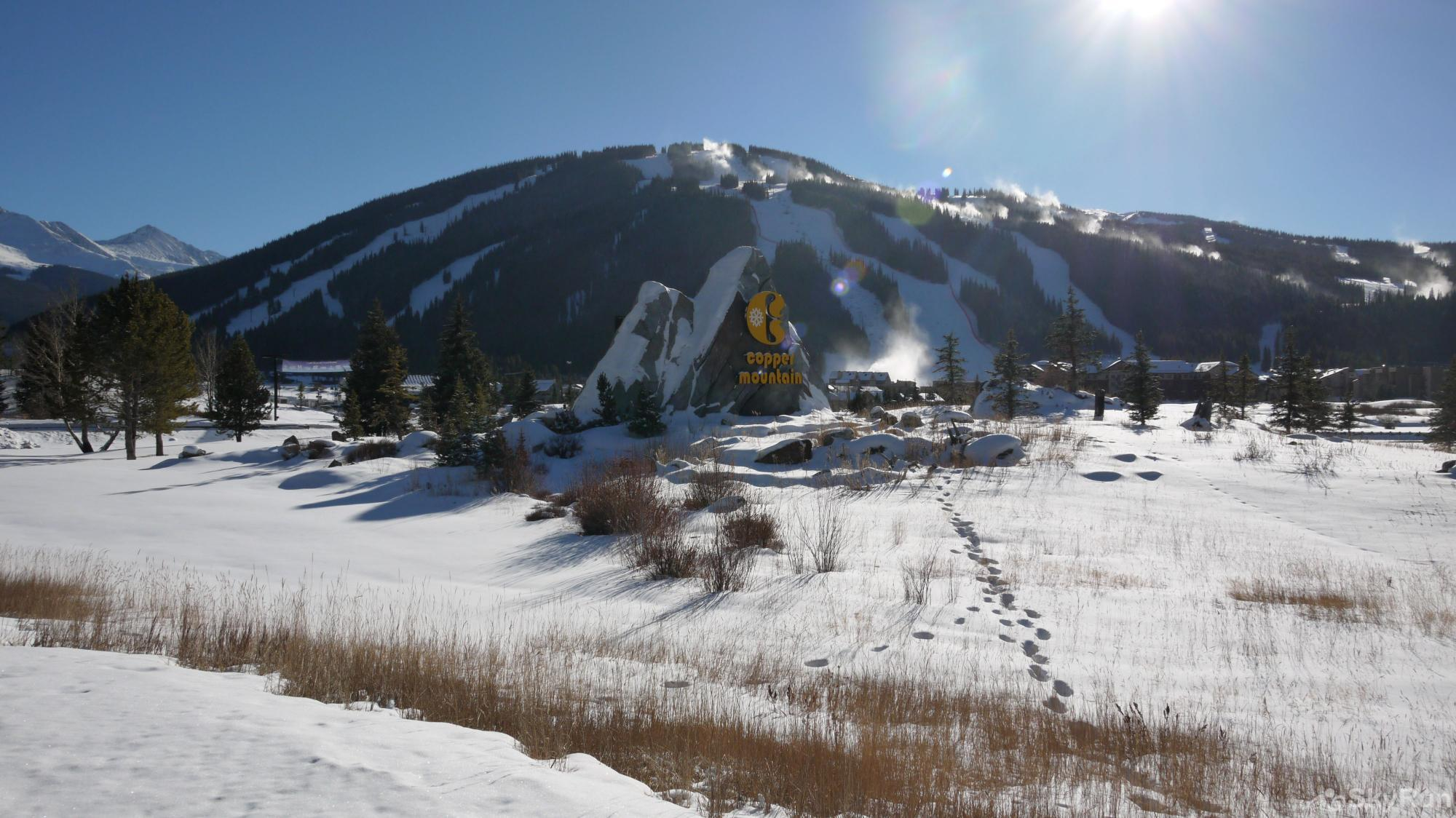 TL505 Telemark Lodge 1BR 2BA The drive up to Copper Mountain