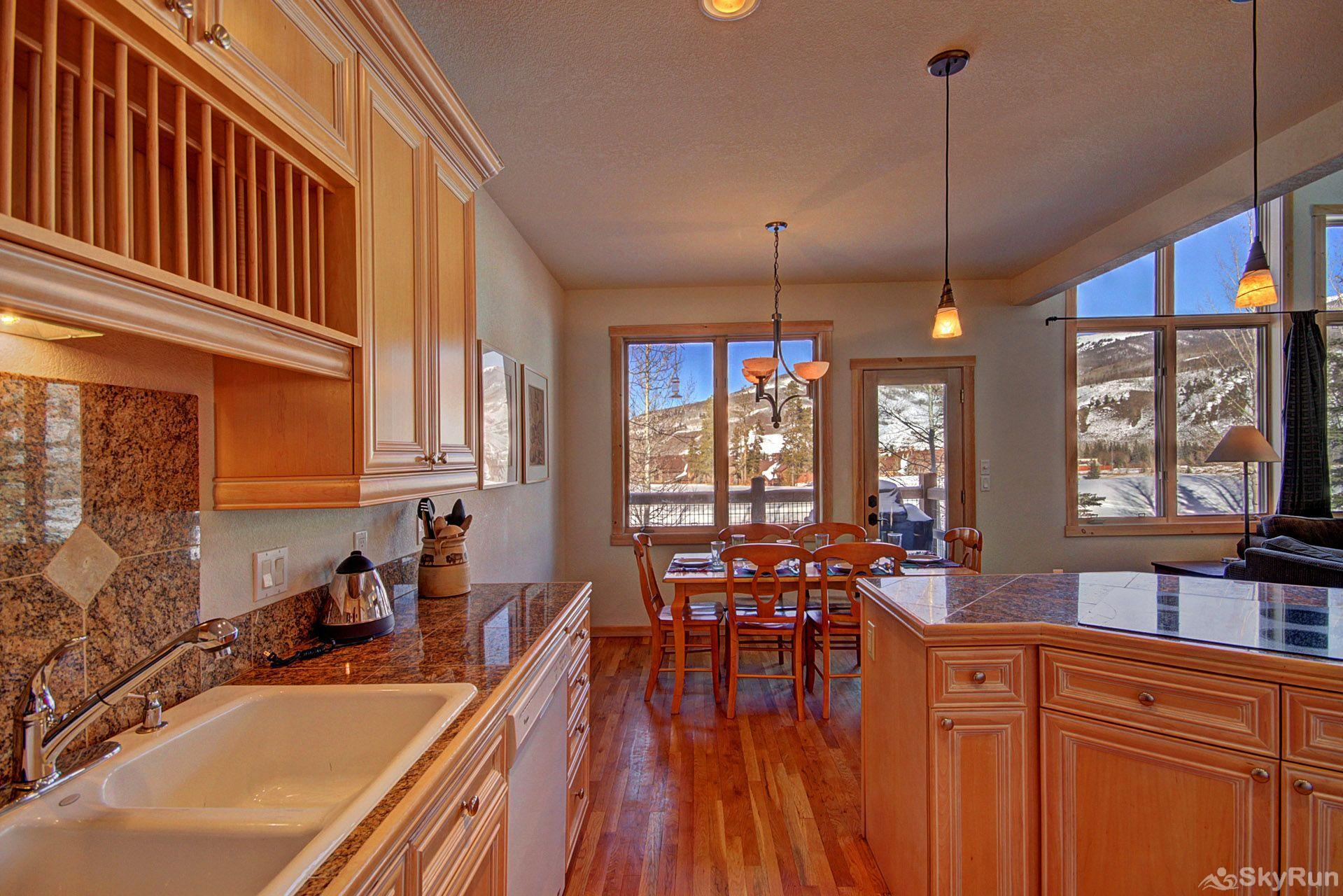 EN402 Ranch at Eagles Nest 3BR 4BA Kitchen with views