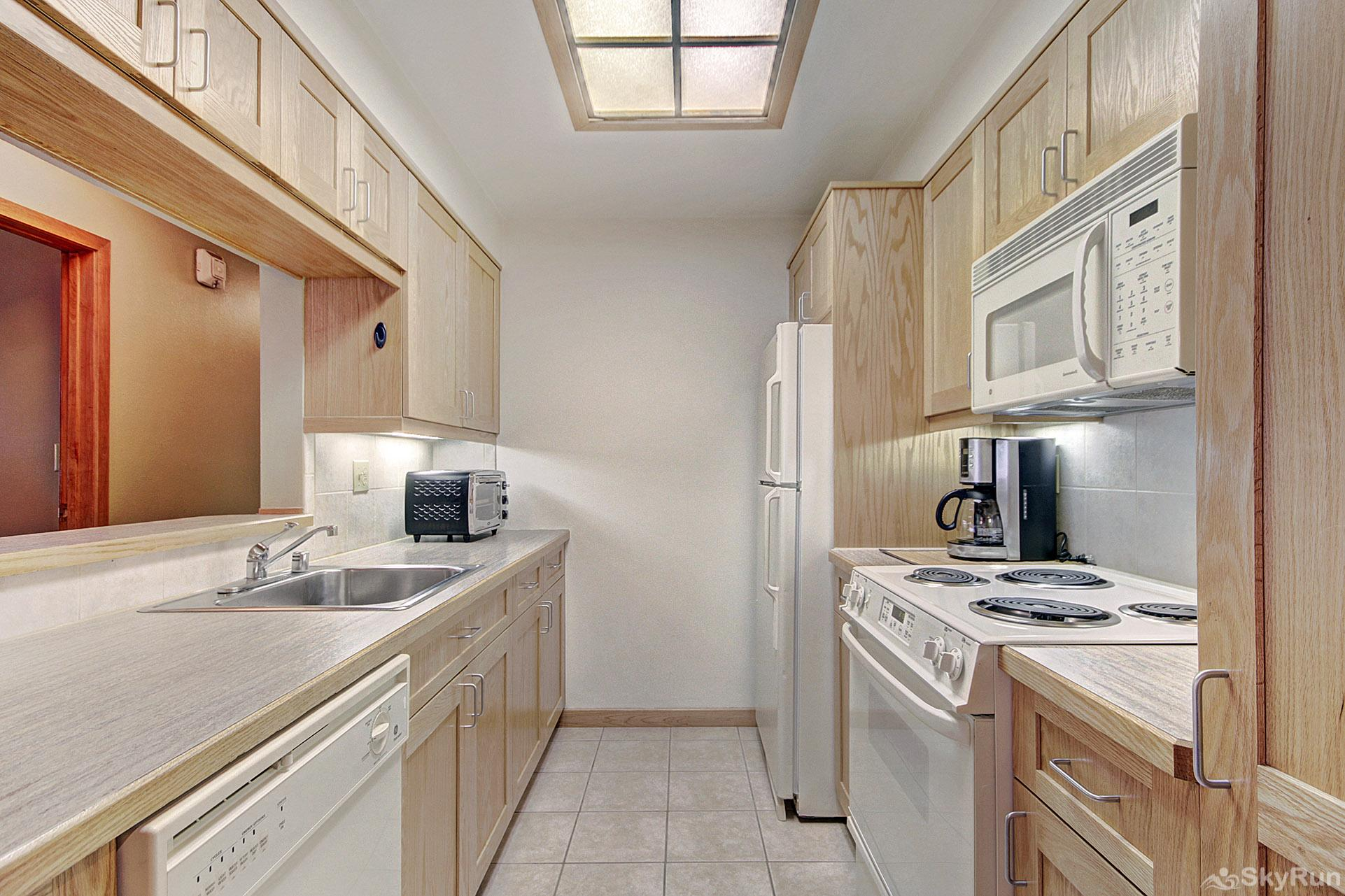 VS549 Village Square Fully Equipped Kitchen