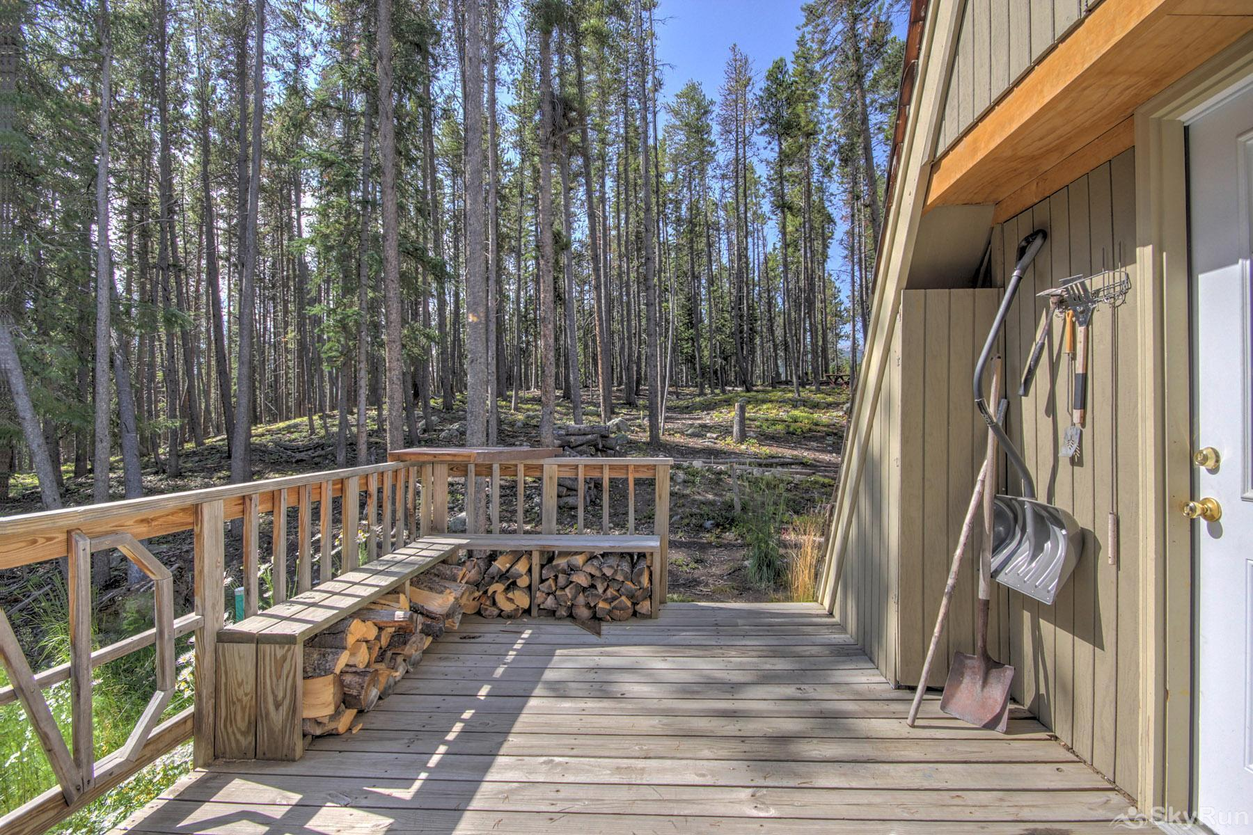 Spruce Creek Lodge Deck