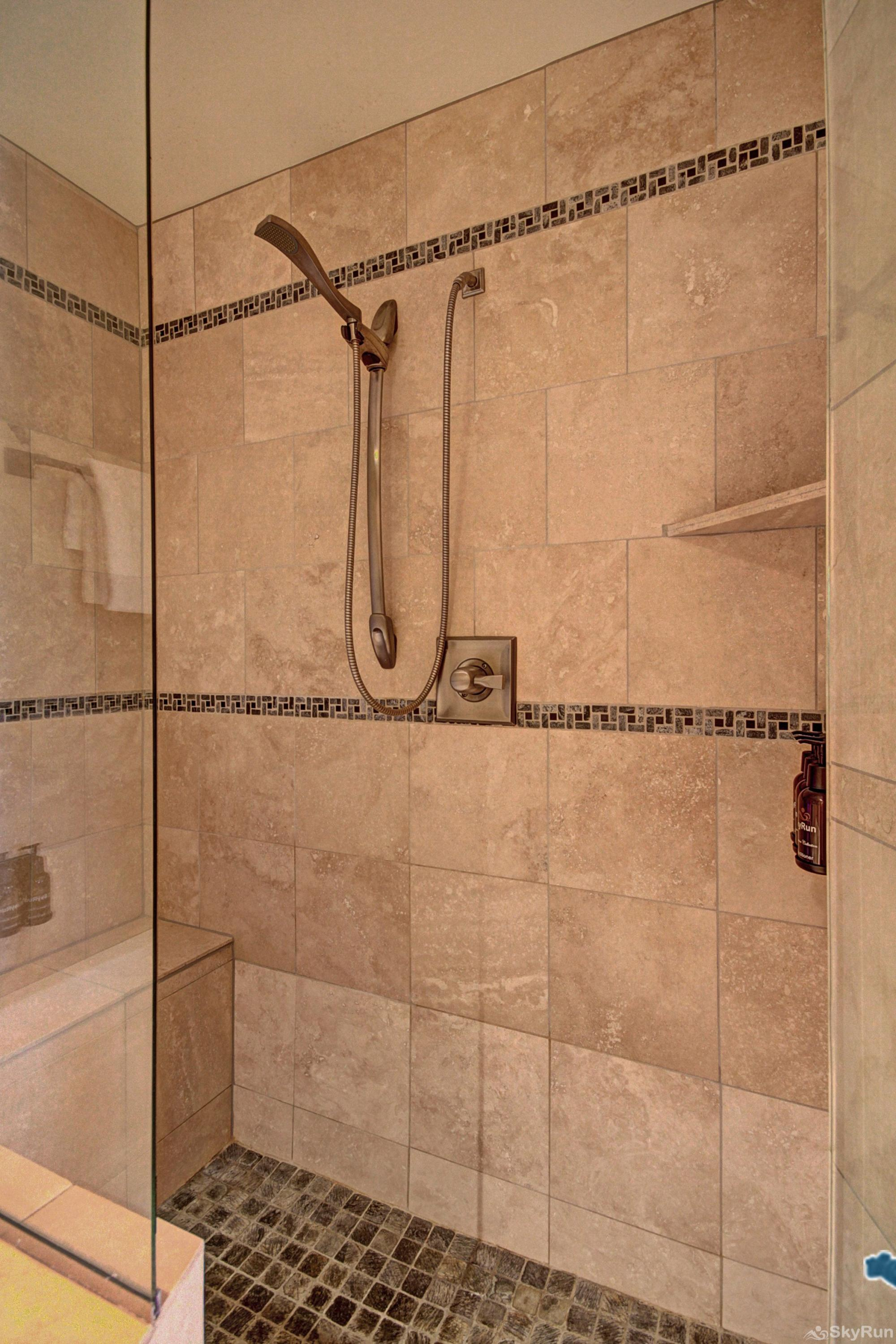 B202 WaterTower Place 2BR 3BA Over sized walk in shower