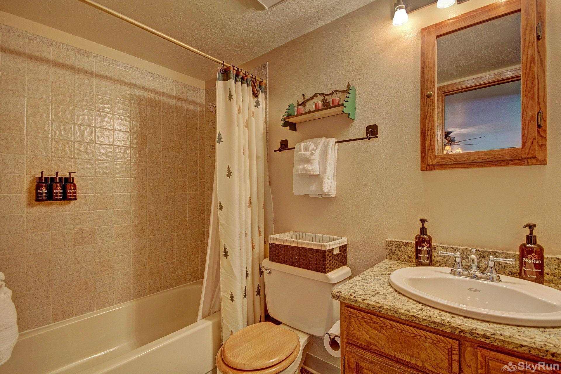 BB204 Buffalo Village 2BR 2BA Guest Bathroom