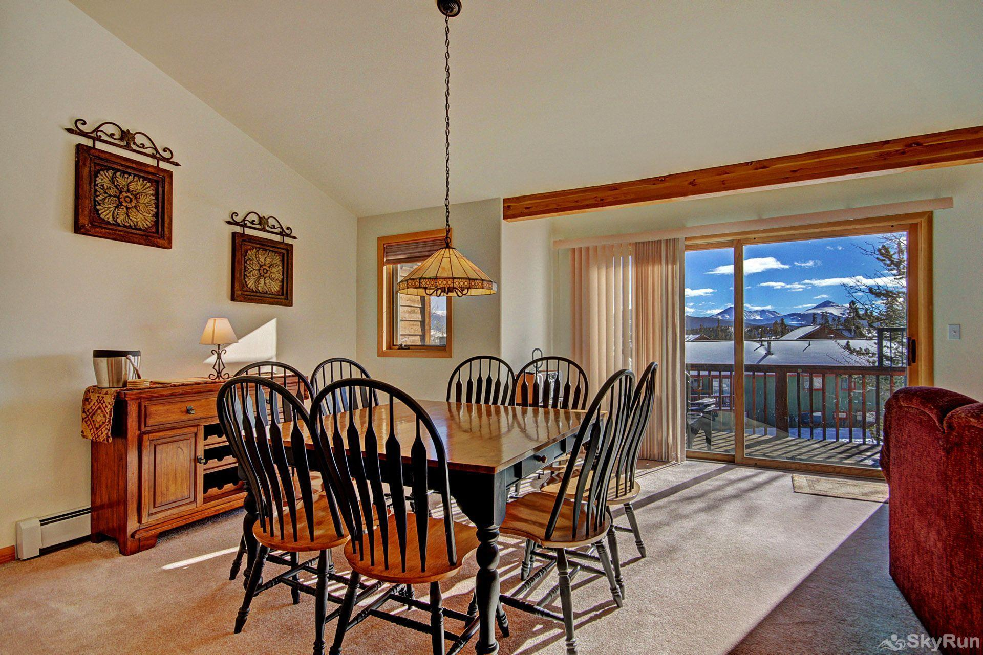 Sauterne Sanctuary 3BR 3BA Dining area with beautiful views