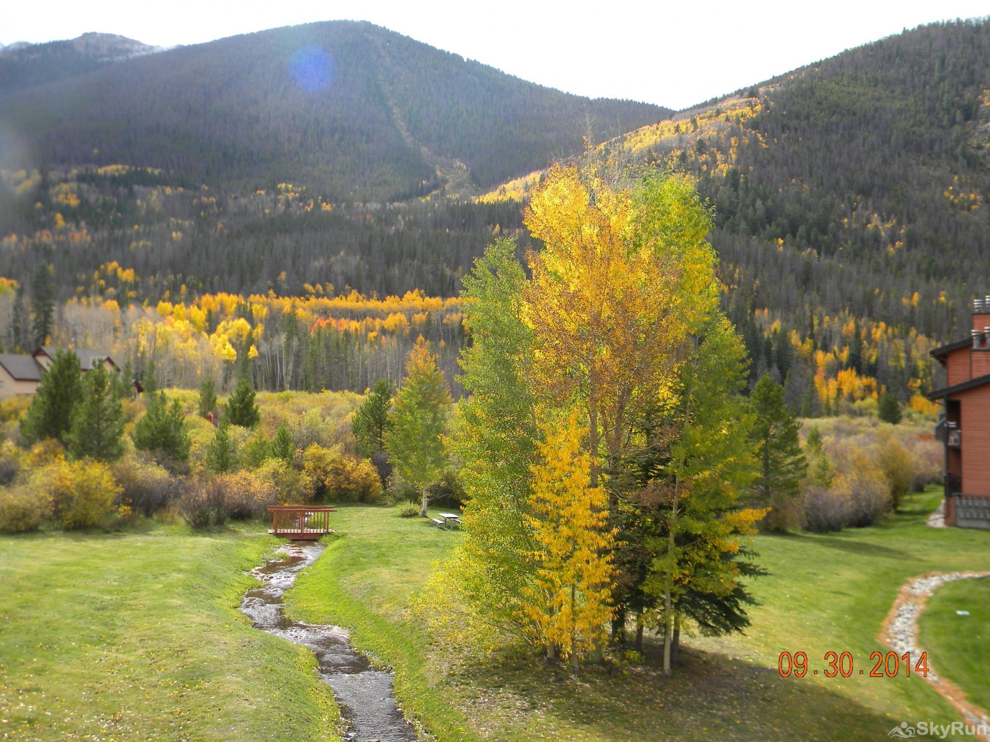 241C Mountain Side 2BR 2BA More gorgeous views from condo.