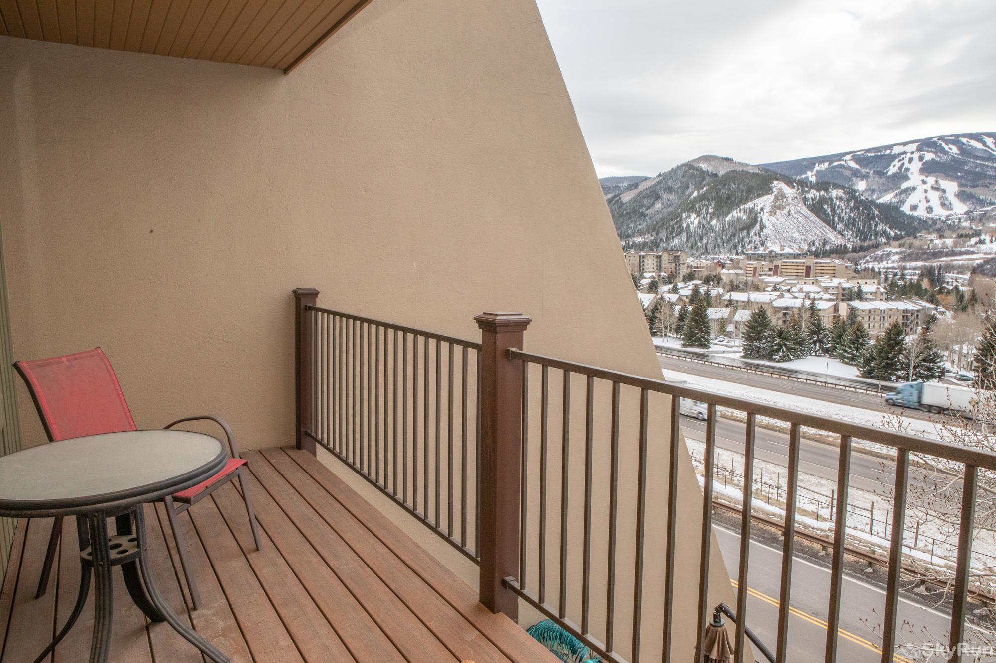 16 Chambertin Townhomes Master Bedroom deck