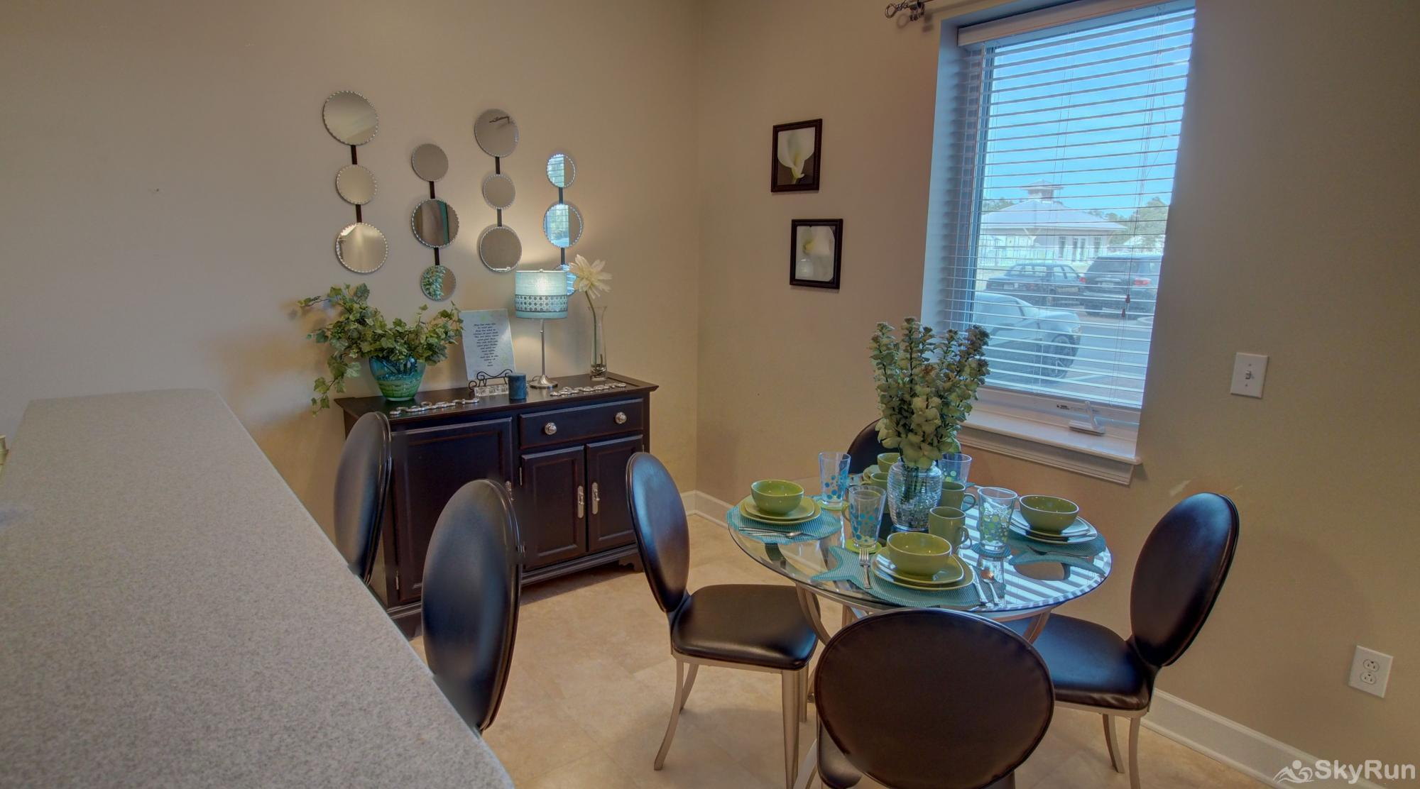 Peridot Bay Dining Area at the Seagrove!