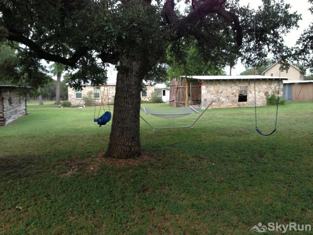 SHEPHERD'S REST Hammock & Swings Under the Large Oak Tree