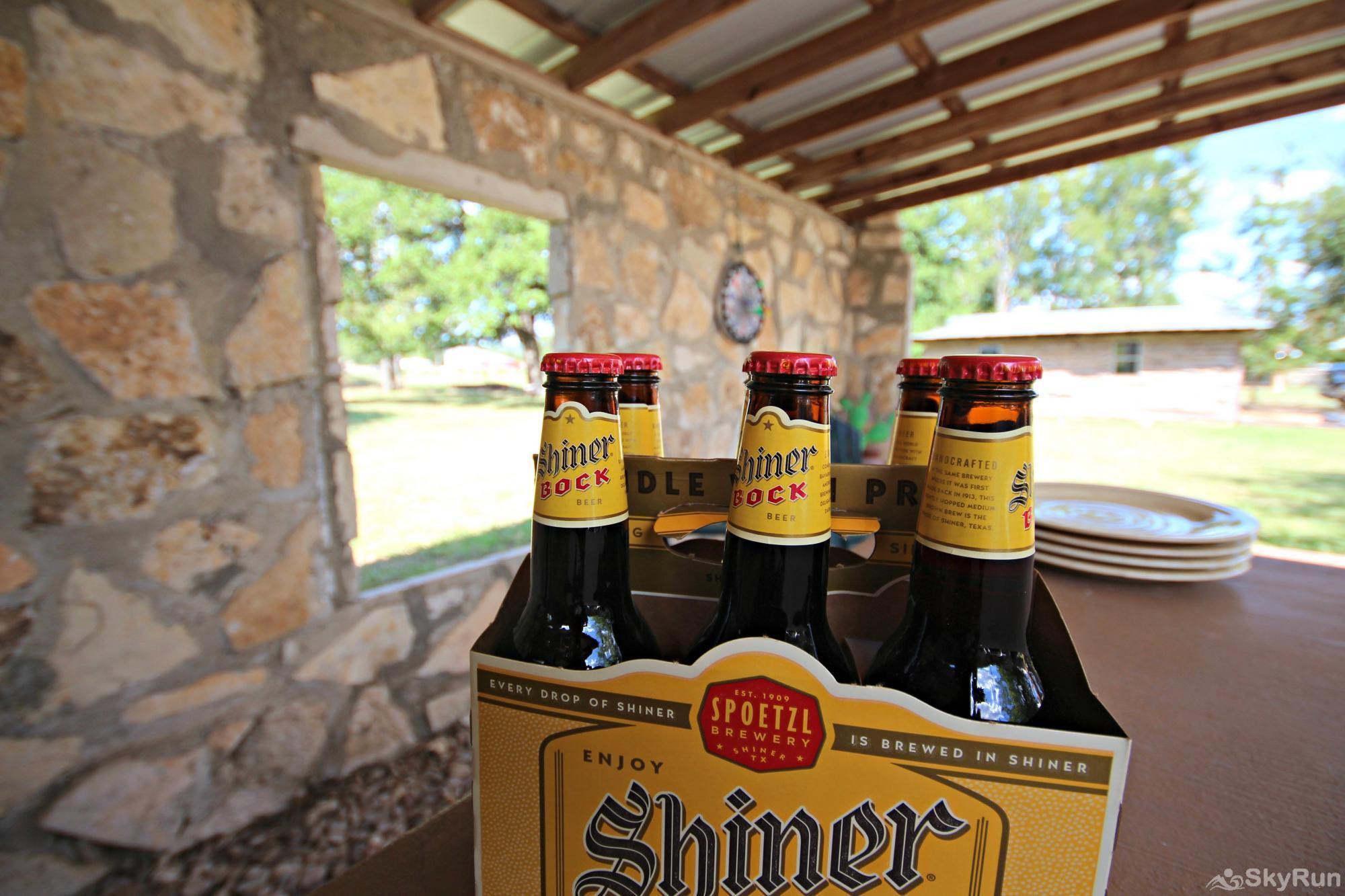 SHEPHERD'S REST Don't Forget your Favorite Hill Country Beverage