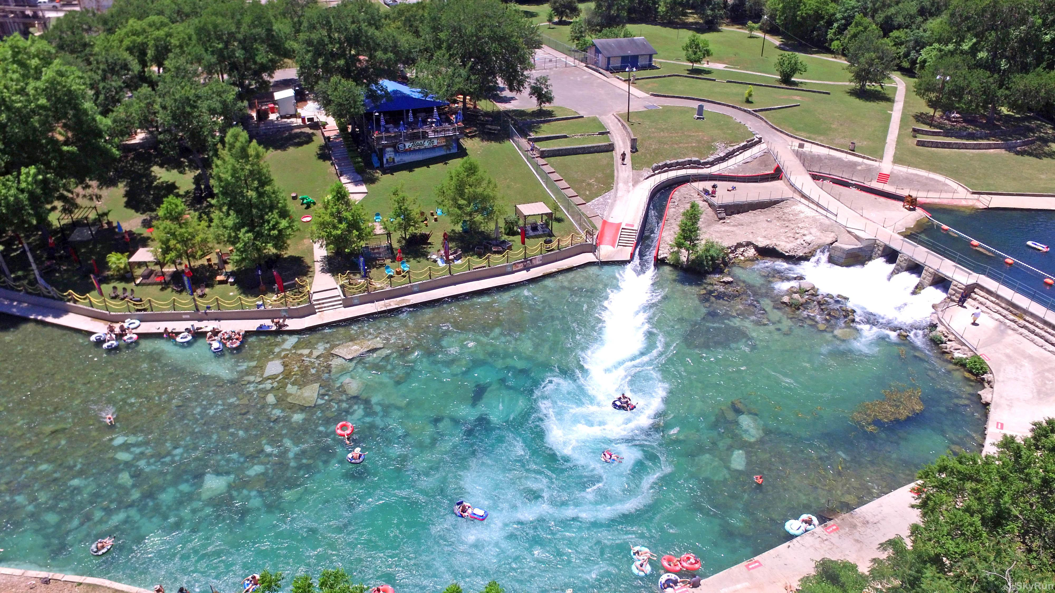 LAKEPOINT LOOKOUT The famous Comal River tube chute