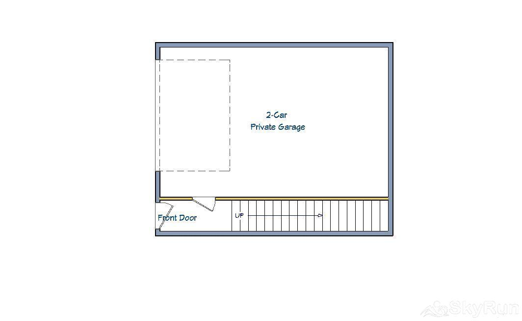 Trappeur 3 Floor Plan - Ground Level