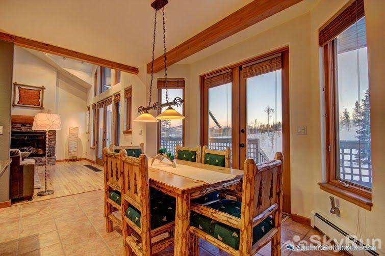 522 Ryan Gulch Dining room with gorgeous views