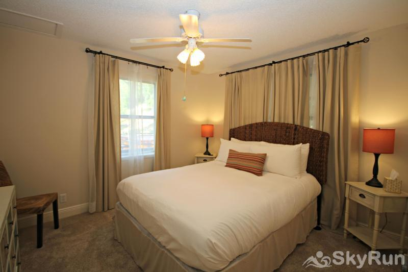 RIVENDELL LODGE Second Bedroom with Comfy Queen Bed