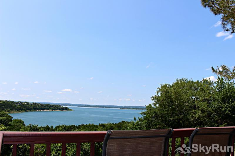 RIVENDELL LODGE View of Canyon Lake from Large Deck