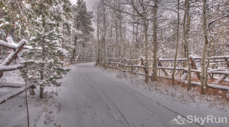 Indian Peaks Lodge This road leads to your dream vacation home....