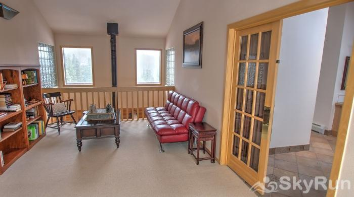 Indian Peaks Lodge Master Suite Reading Area