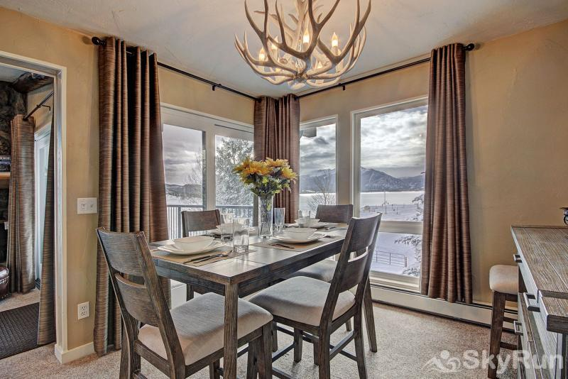 A308 Lake Cliffe Gorgeous views from dining area