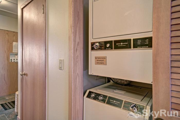 413 Ski Run In-Unit Washer/Dryer