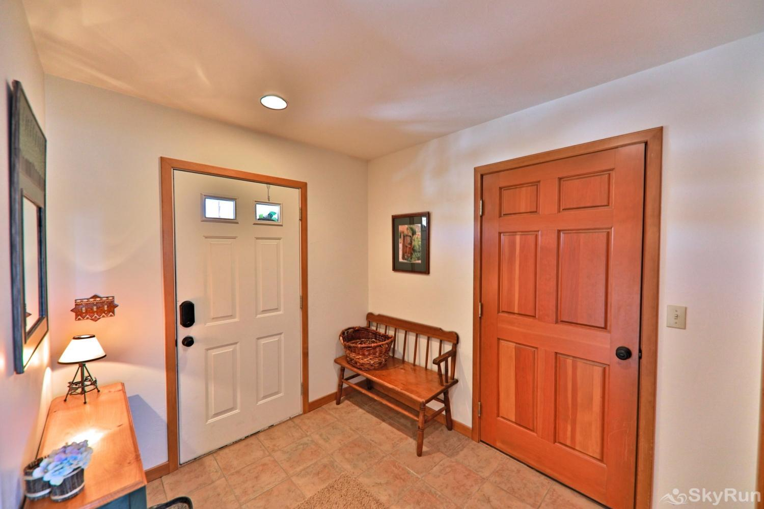 Wapiti Drive Townhome Entry Way with room for gear