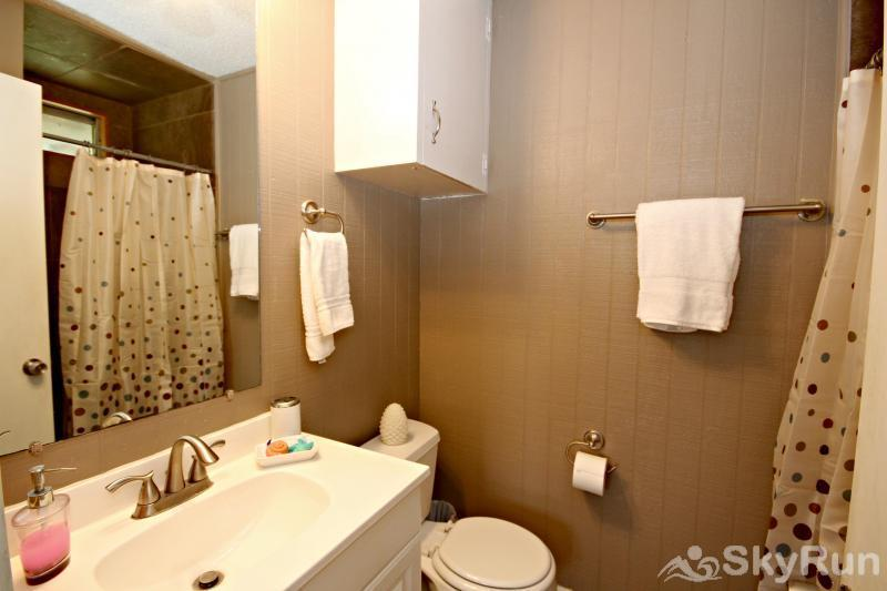 RICKS RIVER HAUS Second Full Bath with Walk-in Shower