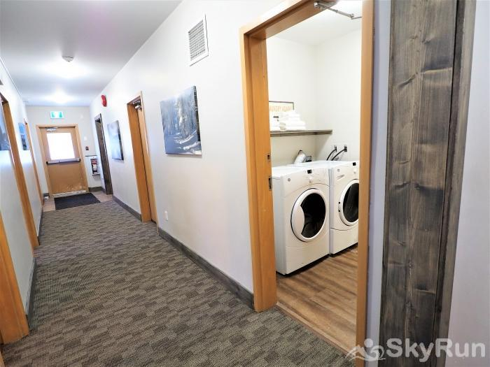 Apex Mountain Lodge Suite Laundry Room