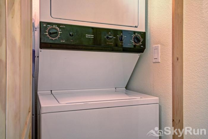 2655 Tenderfoot Lodge Washer/Dryer