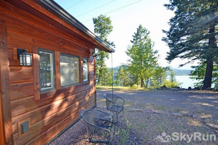 Lodgepole Ridge Cabin Comfortable Outdoor Seating Area