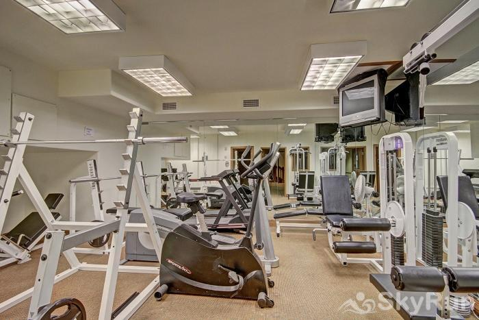 Highland Greens Lodge 301 Fitness room available on the Garden Level