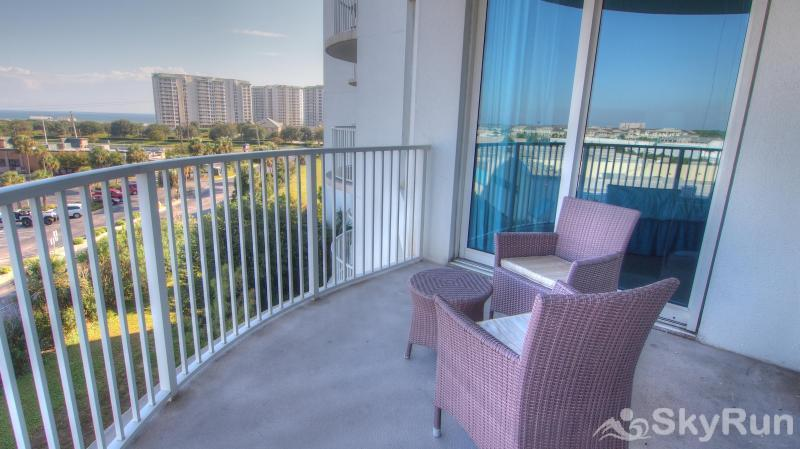 Destin Palms Balcony