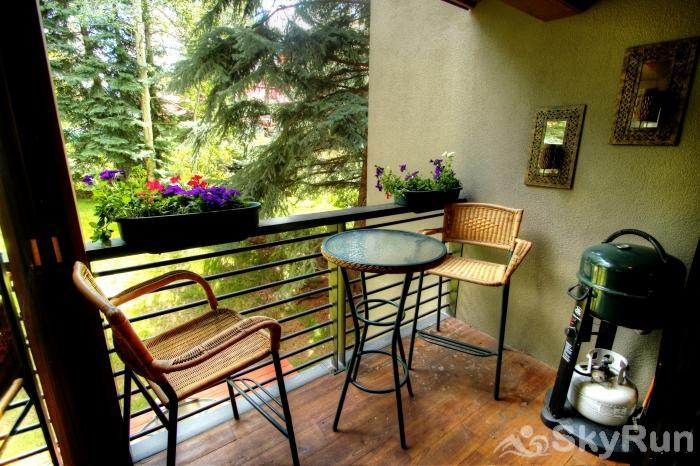 111 Vail International Private patio