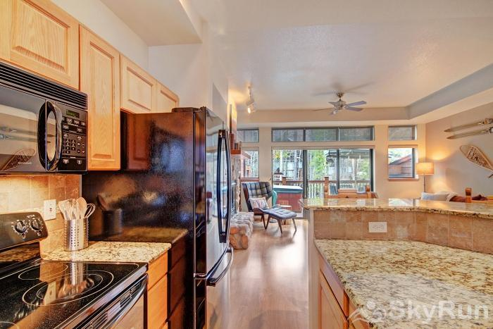 Village Point 303 Fully equipped kitchen with dishwasher