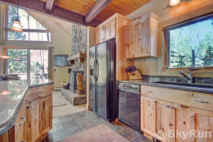 Wildernest Point Fully equipped kitchen with dishwasher