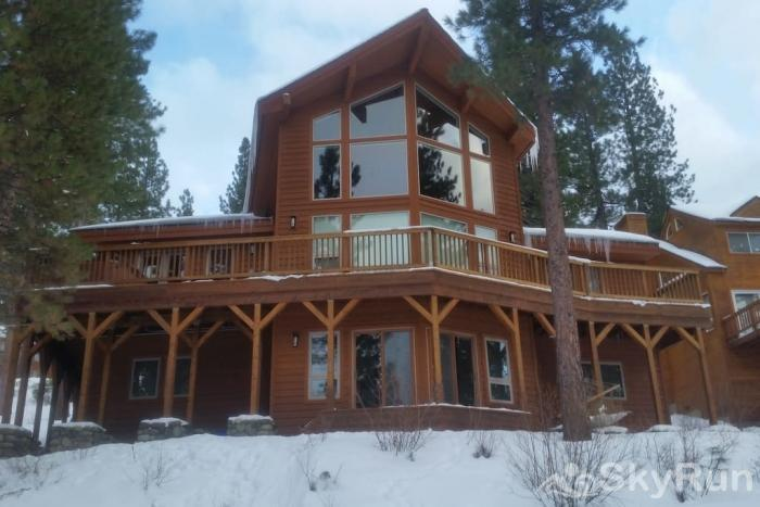 Northstar Conifer Luxury Home Back Exterior View