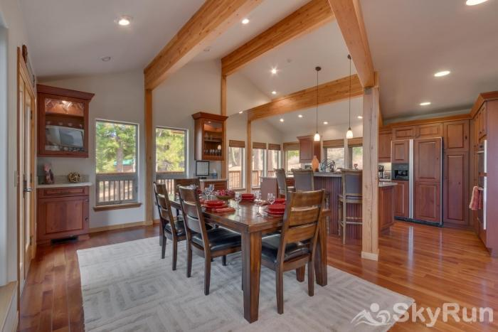 Northstar Conifer Luxury Home Dining Area