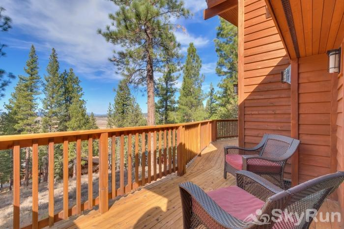 Northstar Conifer Luxury Home Private Deck off Master Suite 1