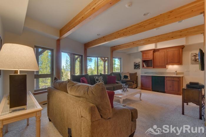 Northstar Conifer Luxury Home Entertainment/Family Room (lower level)