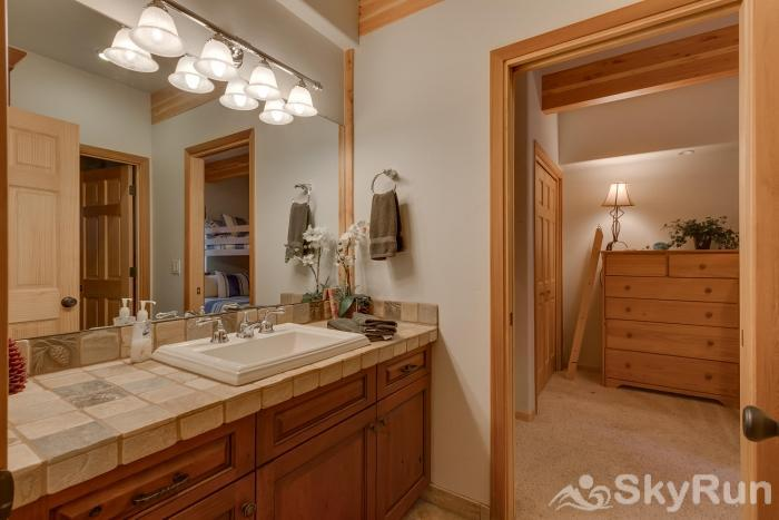 Northstar Conifer Luxury Home Guest Bath (lower level)