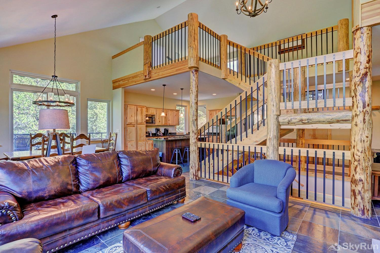 Twin Creek Lodge Beautifully designed interior with open floor plan