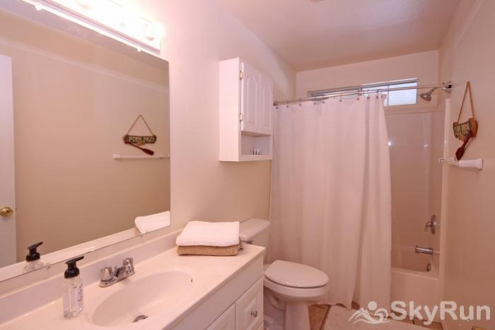 RIVERSIDE ROOST Second Full Bathroom with Shower/Tub Combo