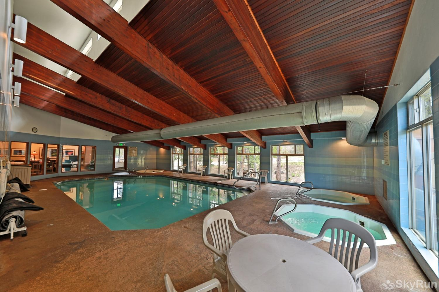Beaver Village 4-22 Clubhouse Pool and Hot Tubs