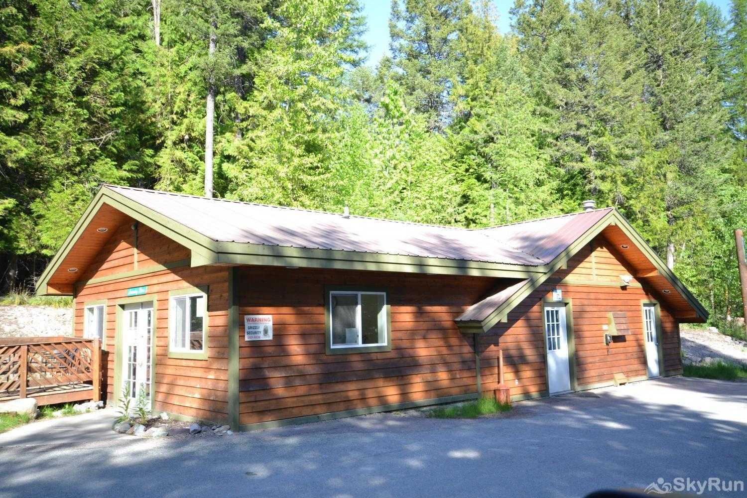 Ptarmigan Village 86 Laundry facility (just a few feet from the parking lot)
