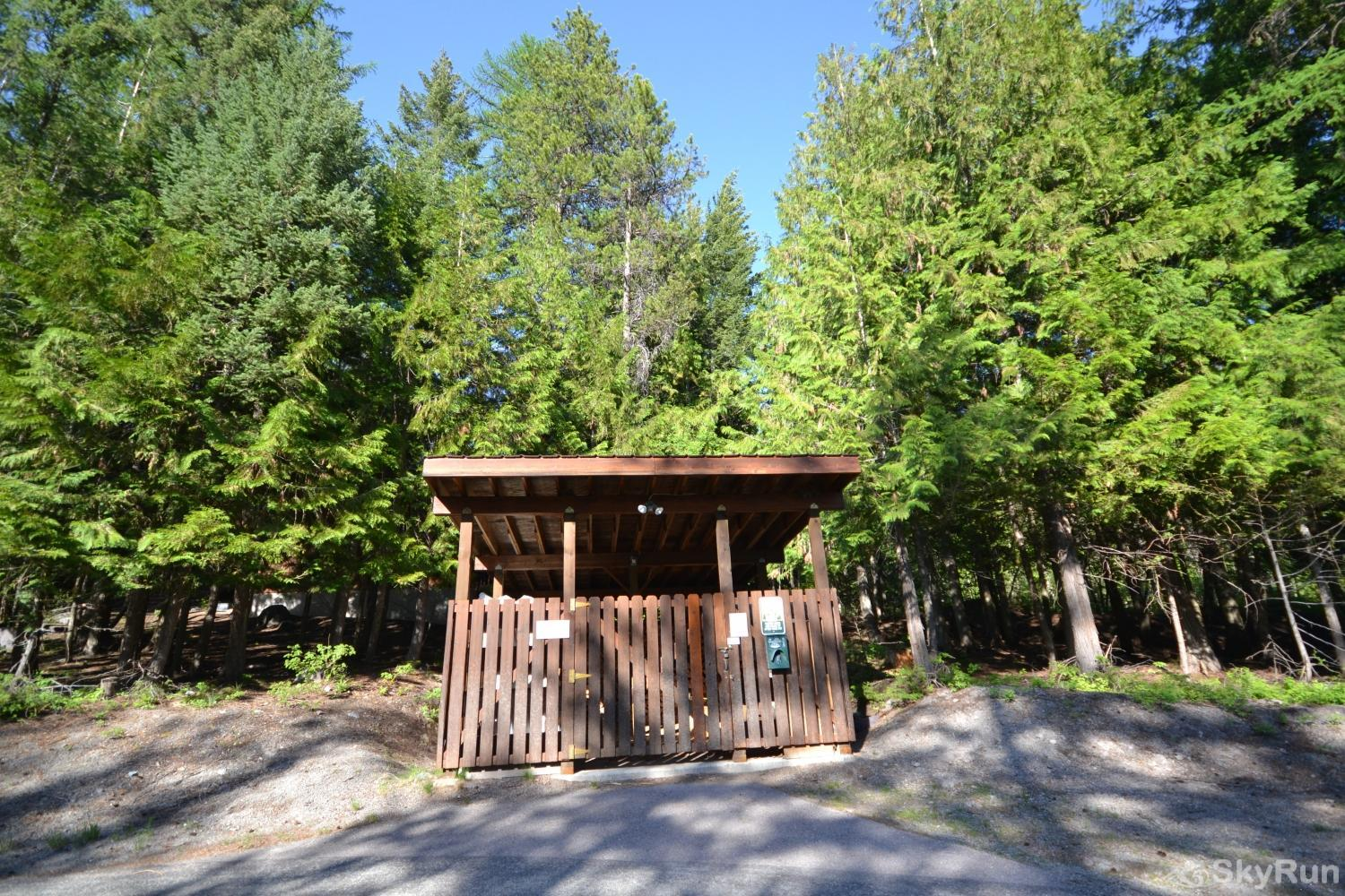 Ptarmigan Village 86 Firewood Shed steps away from parking