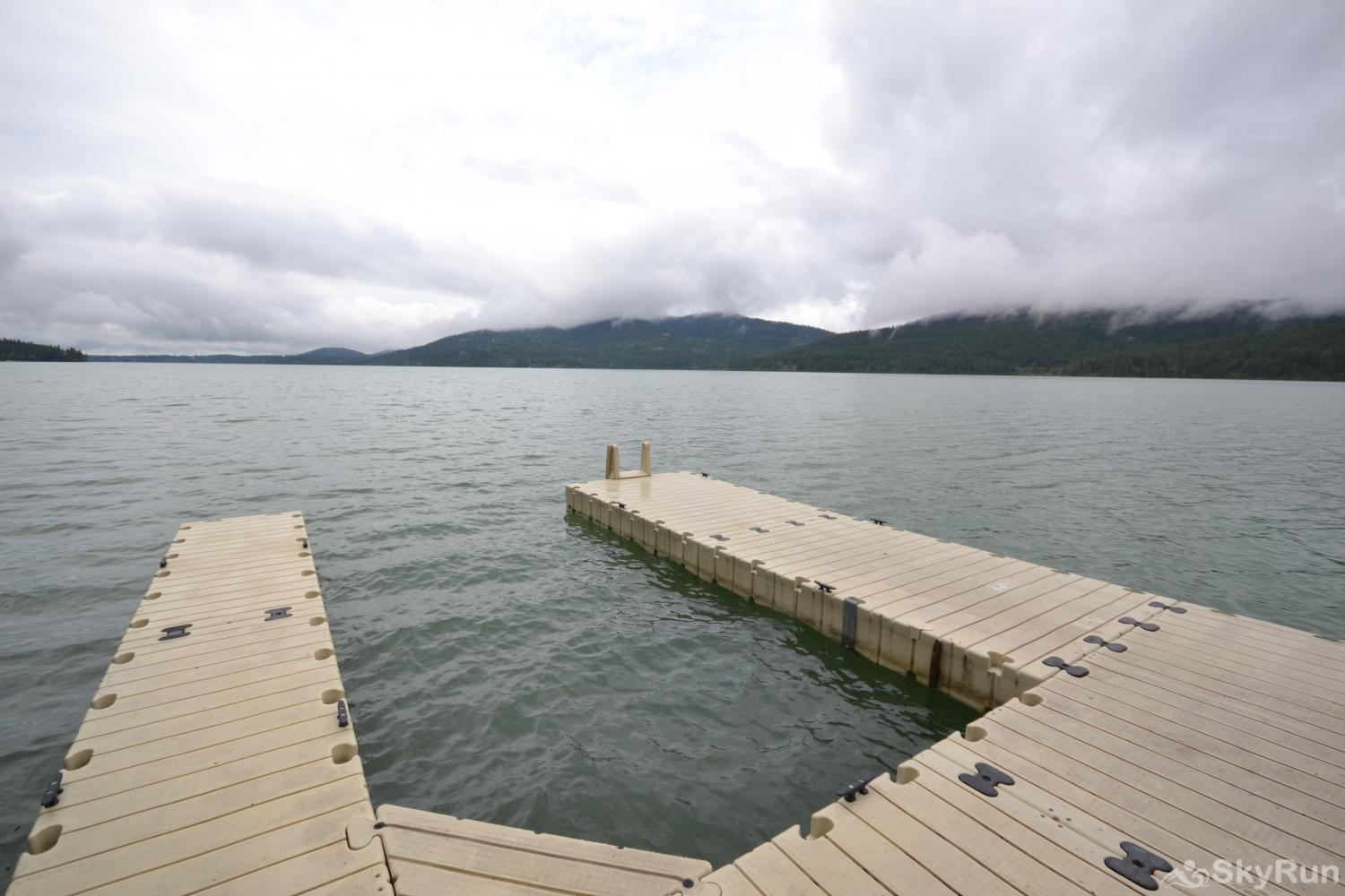 Ptarmigan Village 86 Ptarmigan Private Beach with dock on Whitefish Lake