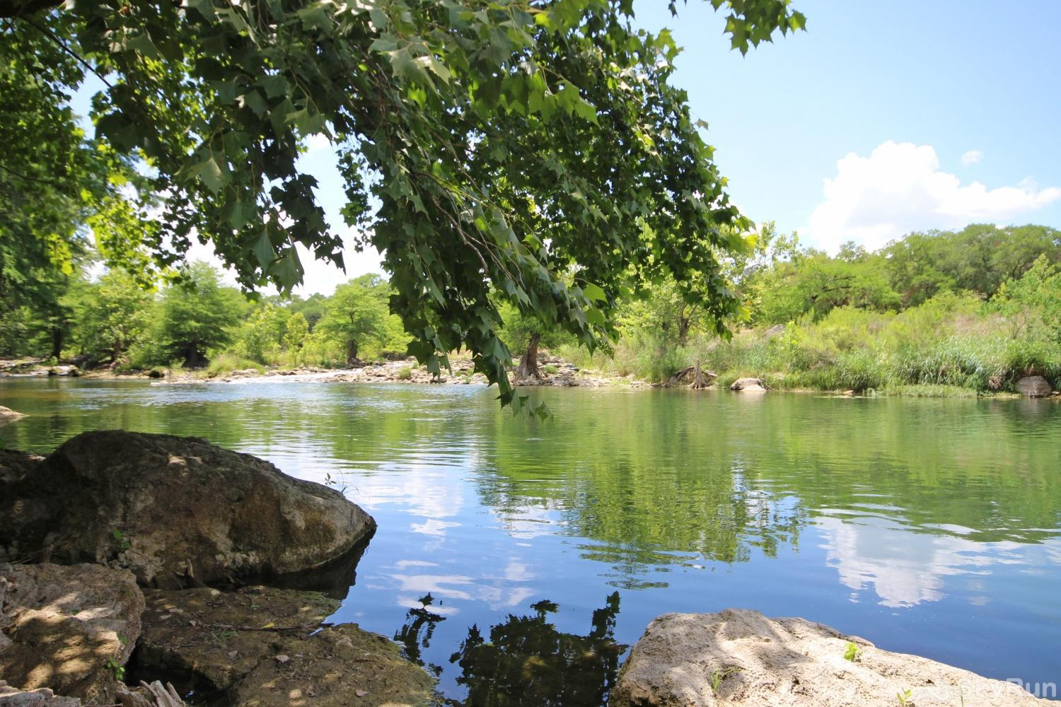 GRUENE VISTA ON THE GUADALUPE Splash into the Fun Today!