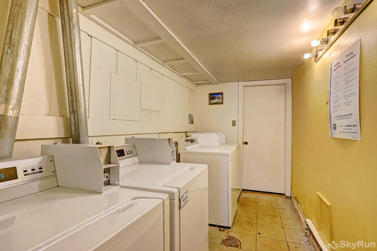 Ski and Racquet Club B106 Shared laundry facilities available on site