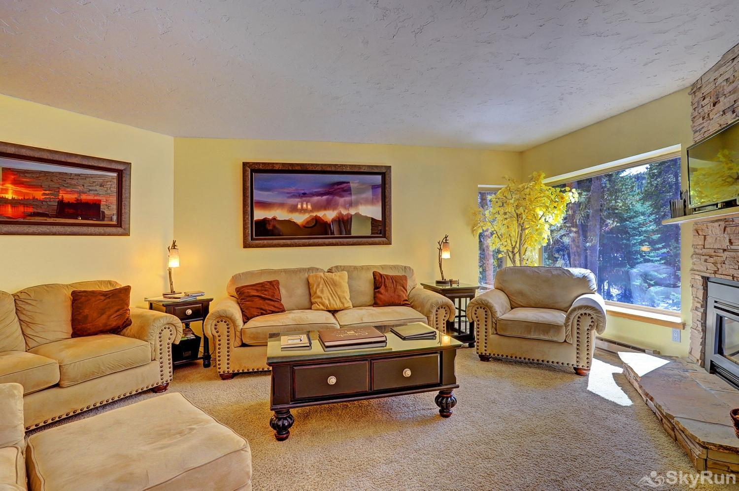 Powderhorn C202 Spacious living is perfect for relaxing with family and friends