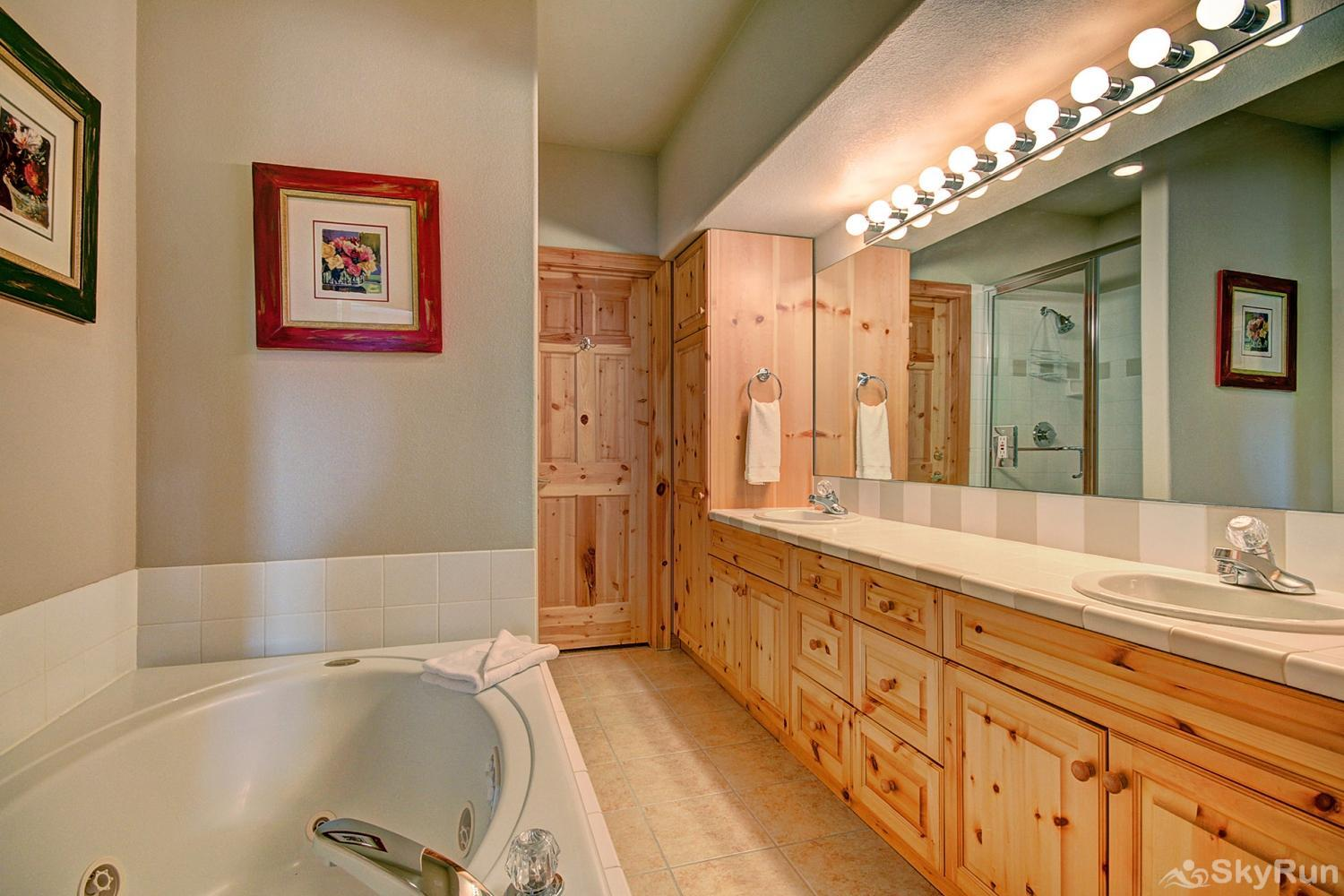 Elk Ridge Retreat Gorgeous 5-piece master bathroom