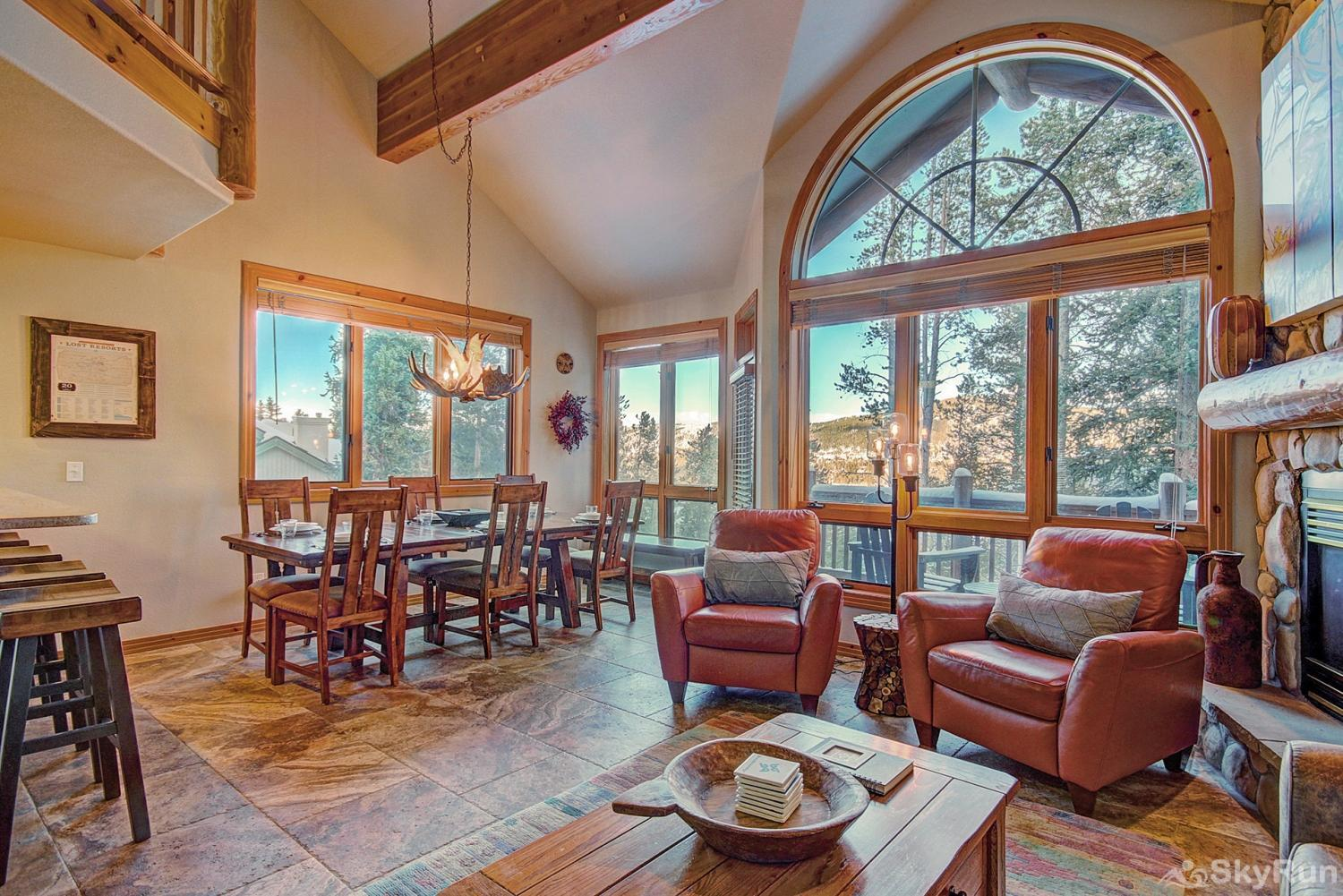 Elk Ridge Retreat Luxury vacation home in the Rocky Mountains