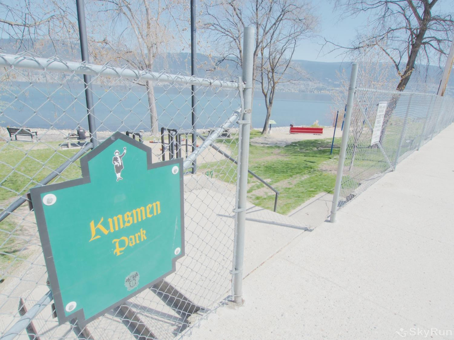 Old Summerland 1 bedroom suite Less than a 10 minute walk to this beach park