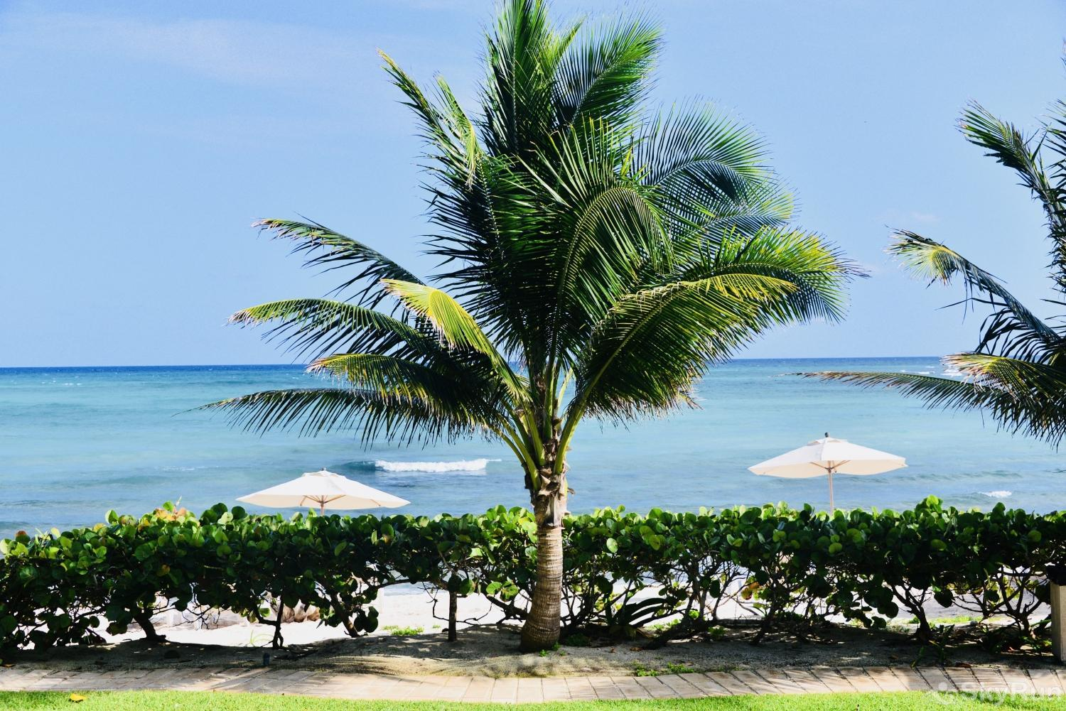 New Beachfront Condo 113 Villa at Exclusive area south of Akumal Secluded Beach beach access